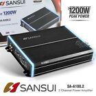 2 Channel 1000-1999W Car Amplifiers