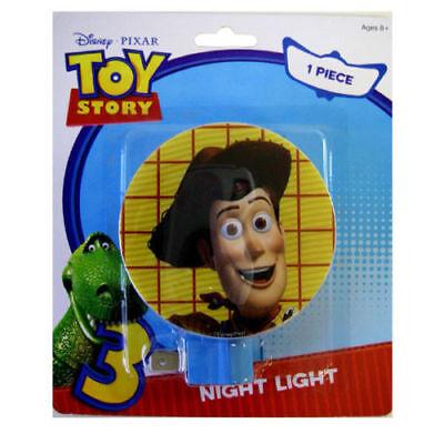 Disney Pixar TOY STORY WOODY Night Light Rotary Shade Kids Boys Girls Lamp (Woodies Light Shades)