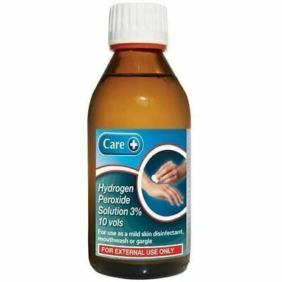 Hydrogen Peroxide 3% for Skin and Mouthwash 200ml