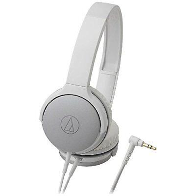 (audio technica Japan ATH-AR1 Portable Folding On-Ear Headphones White from Japan)