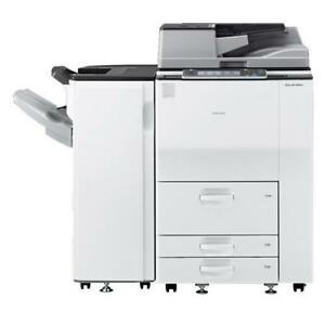 REPOSSESSED Ricoh MP 6002 Black and White High-End FAST 11x17 12x18 Color Scanner Photocopier Finisher BUY LEASE 2 OWN