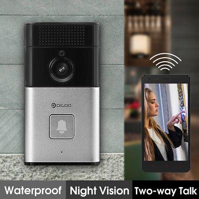 Digoo Wireless Bluetooth WiFi HD Video DoorBell Smart Home Camera Phone Two-way