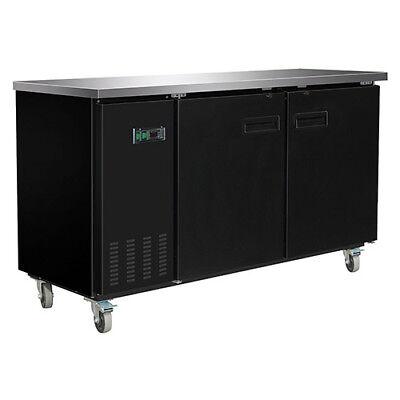 Central Exclusive 69k-104 Solid Door Back Bar Cooler 2 Doors