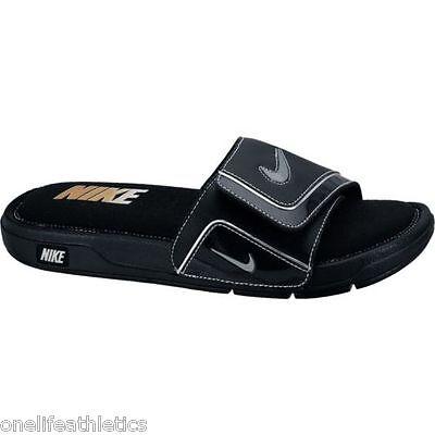 New Men's Nike Comfort Slide 2 Slide Sandals NWT NEW Flip flops Black