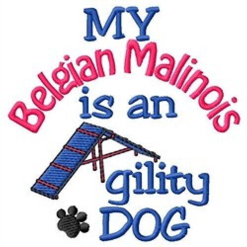 My Belgian Malinois is An Agility Dog Short-Sleeved Tee - DC1736L