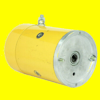 Used, NEW 12V MEYER SNOW PLOW MOTOR for E57 AND E60 PUMPS 82-7852 AMT0351 PR2-0059N for sale  USA