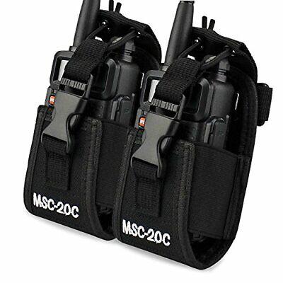 3 in1 Multi-Function Radio Holder Holster Case Pouch Bag for Motorola Kenwood