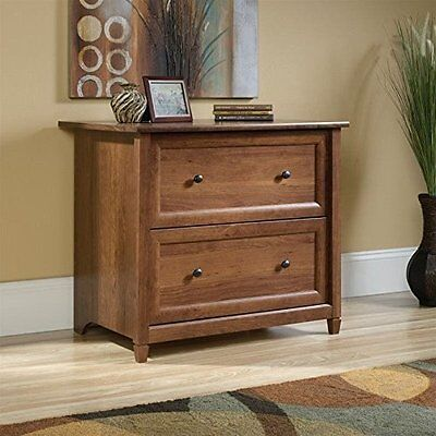 Sauder Edge Water Lateral File 419398 Auburn Cherry New