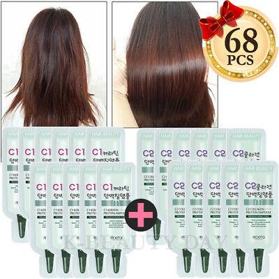 MOETA Premium Protein Hair Ampoule 68pcs Intensive treatment for damaged hair