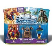 Skylanders Dragons Peak Sunburn