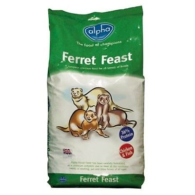 Alpha Ferret Feast, ferret food