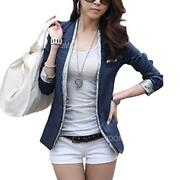 Women Blue Blazer