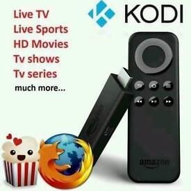 Amazon Fire TV stick KODI AND MOBDRO INSTALLATION SERVICE