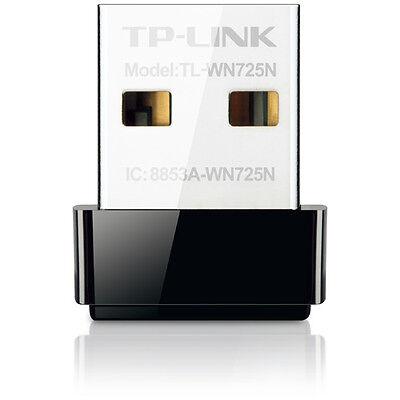 Tp Link 150Mbps Advanced Security Wi Fi Wireless N Nano Usb Adapter   Tl Wn725n