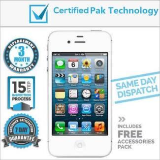 Genuine Unlocked Refurbished iPhone 4 4S 5 5S 6 ! Pak Guarantee ! Dandenong Greater Dandenong Preview