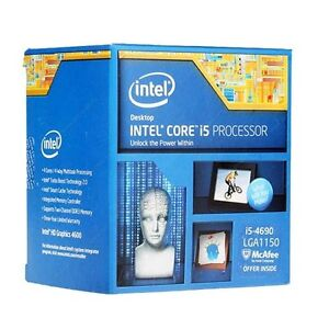 Intel Core i5-4690 with Motherboard and Tower Cooler