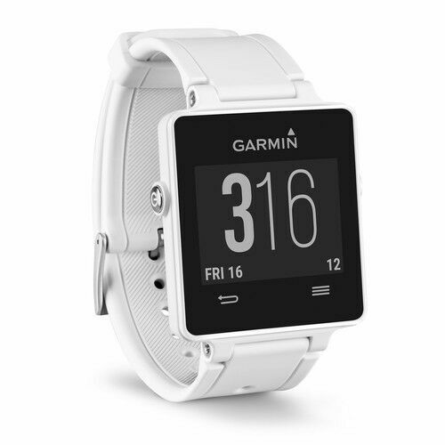 Garmin vvoactive Smartwatch 28.6mm Plastic White Silicone (Unlocked) 010-01297-01