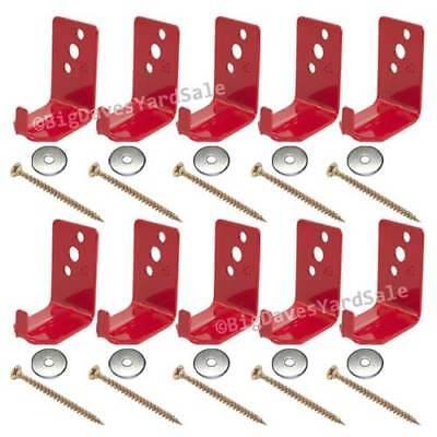 10 - Universal Wall Hook Bracket Hanger For 1015 Or 20 Lb. Fire Extinguisher