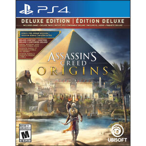 Assassin's Creed Origins Édition Deluxe - PS4