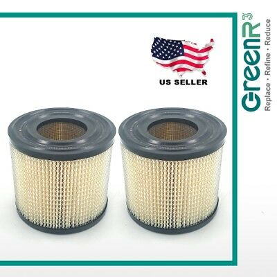 2x GreenR3 For Briggs & Stratton 393957 170400 John Deere LG393957S Air Filter