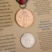 World War II 50th Anniversary Coins