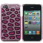 Bling iPhone 4S Case Leopard