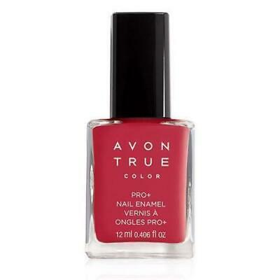 Avon True Color Pro+ Nail Enamel - *ROYAL RED* Polish - New - FREE SHIPPING