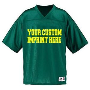Custom Football Team V-Neck Jerseys great for Boosters and Fans!