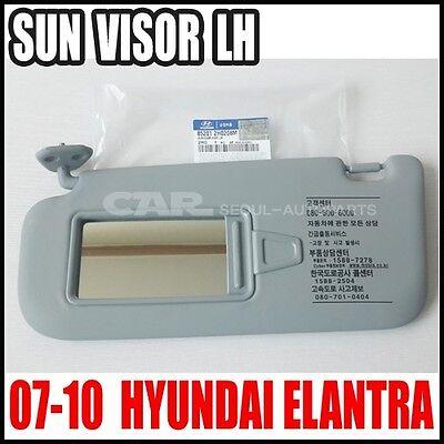 Hyundai 07~10 Elantra Avante HD  Driver Left Inside Sun Visor Gray 85201-2H0208M