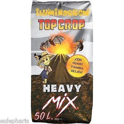 HEAVY MIX Sustrato TOP CROP Tierra:Turba+Coco+Harina de lava+Guano+Arcilla