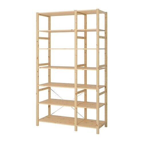 reputable site 590ee 36cb7 Ikea Ivar 2-Section Shelving Unit w/ Cupboard & Drawer | in Bishopston,  Bristol | Gumtree