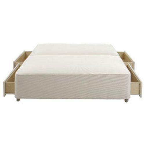 4ft divan base ebay for Double divan base and mattress