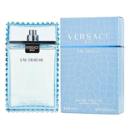 Versace Man Eau Fraiche by Gianni Versace 6.7 oz EDT Cologne for Men New In Box