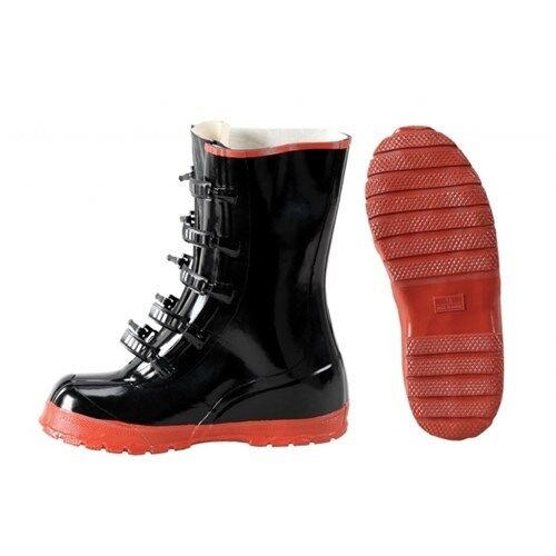 Black 5-Buckle Over Shoe Rubber Slush Boots Size 10-16 *Free US Shipping* Clothing, Shoes & Accessories