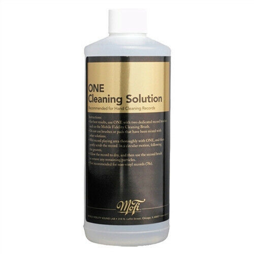 One Record Cleaning Fluid 16Oz [New Vinyl Accessory]