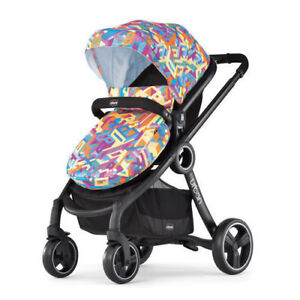 Chicco 1in6 Stroller - carriage for newborns and seat positions