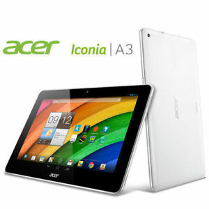 """New Open Box Acer Iconia A3 10.1"""" 16 GB Android White"""