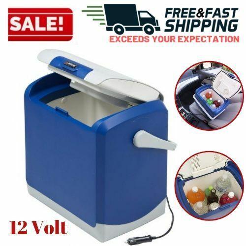 12 Volt Portable Travel Coolers Beverage Lunch Food Warmer C