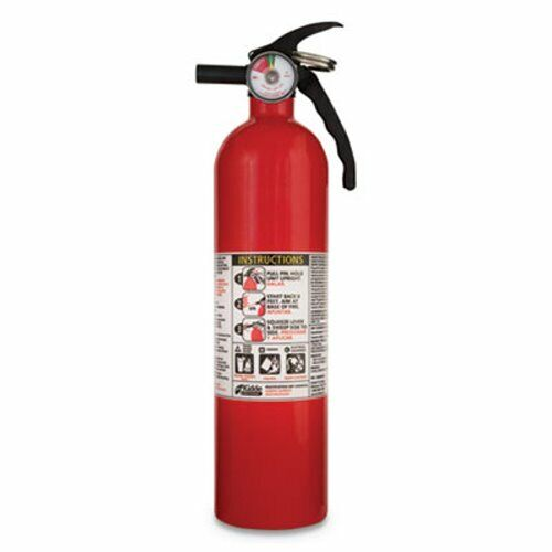 Kidde Full Home Fire Extinguisher, 2.5lb, 1-A, 10-B:C (KID466142MTL)