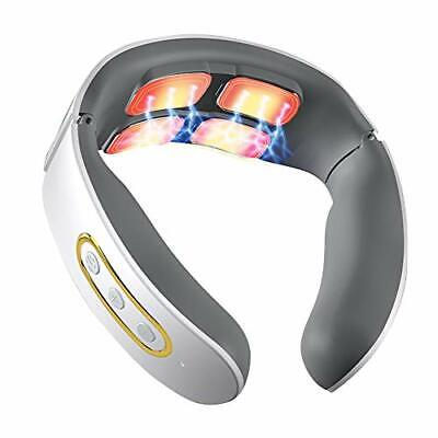 Masajeador de Cuello eléctrico, Masajeador Cervical cuello pulso Calefacción,