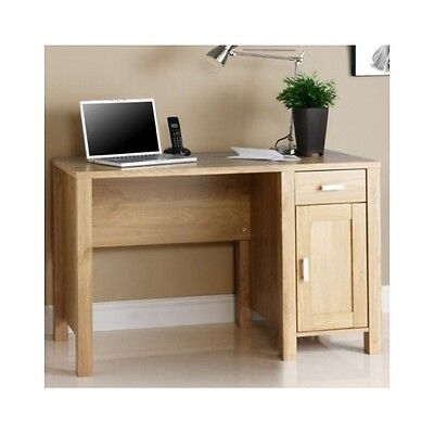 Computer Desk Wood Office Table Workstation PC Furniture Home Study Oak Laptop