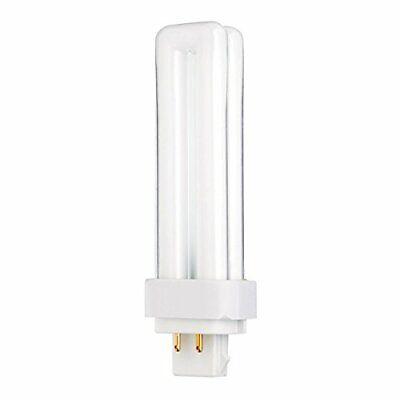 Satco S8329CFD13W/4P/827/ENV13 Watt CFL Light BulbCFL4 Pin G24q-1 Base2700K - 13w T4 G24q 1 Base
