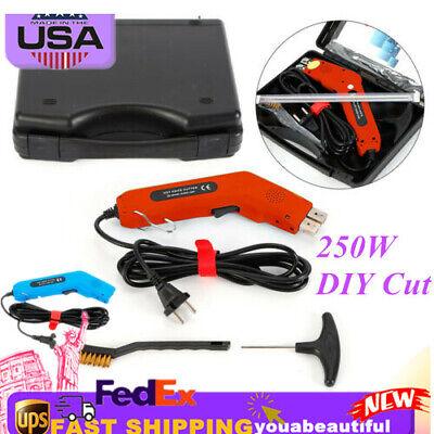 Electric Cutter Knife Foam Hot Wire Kit 250w Diy Cut Shape Foam Sponge Durable