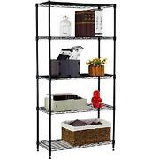 Black Wire Shelving