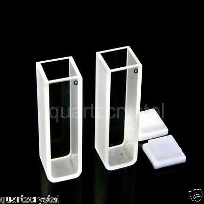 Set Of 2 Quartz Cuvettes 10mm Cuvette Cell Spectrometer Cells Cuvettes