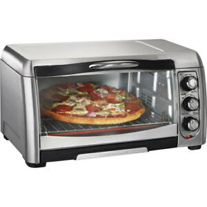 Hamilton Beach Easy-Reach Convection Toaster Oven - 6-Slice