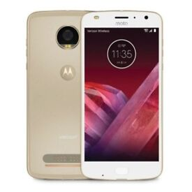 Brand New, Moto Z2 Play, 64GB, Gold, Unlocked