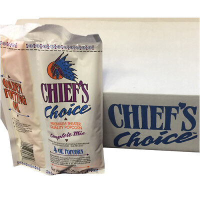 Star Cc36-4oz Chiefs Choice Popcorn Kit - 36 4 Oz. Packs