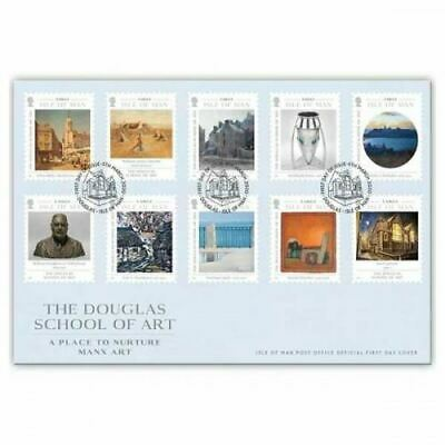 The Isle of Man Douglas School of Art 2020 First Day Cover