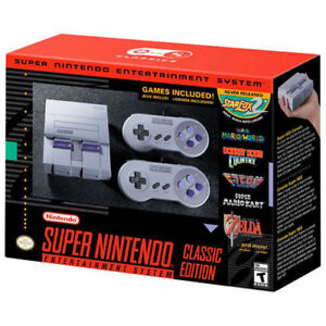 SNES Nintendo classic edition, bought at ShoppersDrugMart